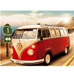 Californian Camper Route 1 Mini Poster