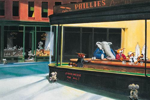 Edward Hopper Nighthawks Paintings For Sale