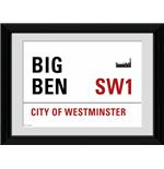 "London Big Ben Framed 16x12"" Photographic Print"