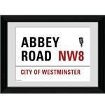 "London Abbey Road Framed 16x12"" Photographic Print"