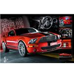 Easton Red Mustang Maxi Poster
