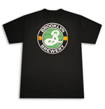 BROOKLYN BREWERY Classic Logo Black Graphic T Shirt
