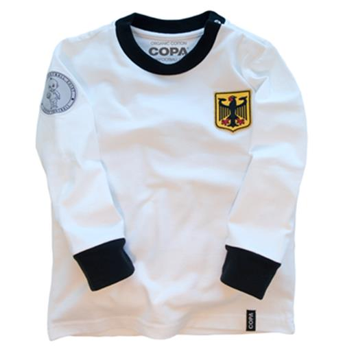 Germany 'My First Football Shirt' Long Sleeve 90% organic cotton / 10% elasthan