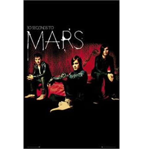 30 Seconds To Mars-Band-Poster