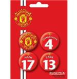 Manchester United-Players3-Badge Pack