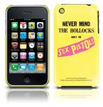 Sex Pistols Iphone Cover 3G/3GS - Never Mind. Emi Music officially licensed product.