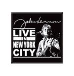 Magnet John Lennon Live In Nyc. Emi Music officially licensed product.