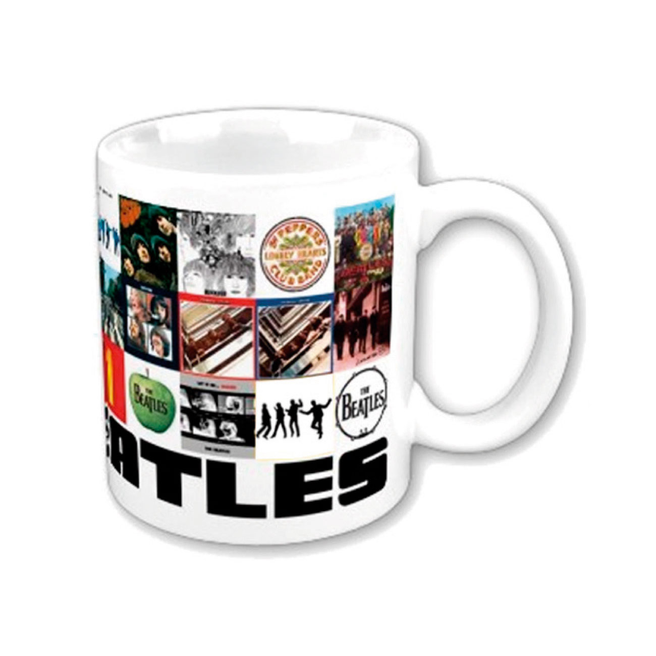 Beatles Mug Chronology Boxed. Emi Music officially licensed product.