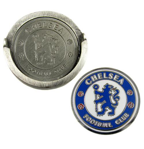 Chelsea F.C. Hat Clip and Marker