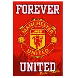 Manchester United F.C. Poster Crest 19
