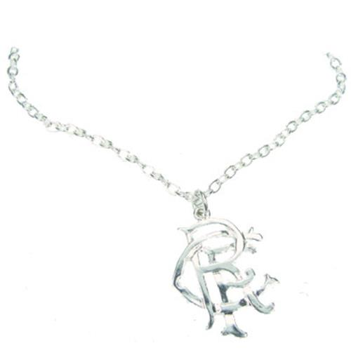 Rangers F.C. Silver Plated Pendant and Chain