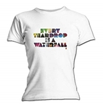 Coldplay T Shirt Every Teardrop. Emi Music officially licensed t-shirt.