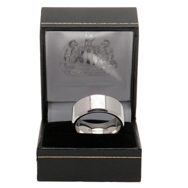 Newcastle United F.C. Band Ring Medium