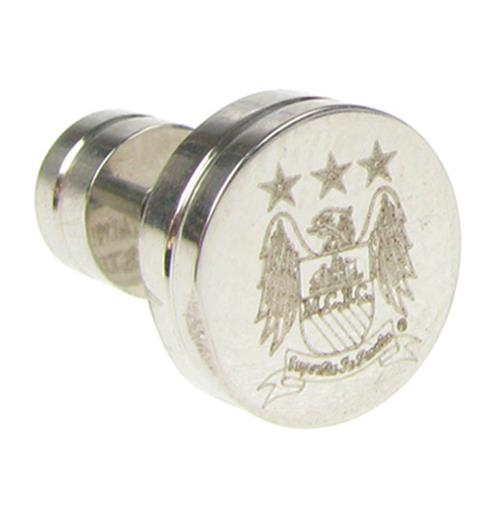 Manchester City F.C. Stainless Steel Stud Earring