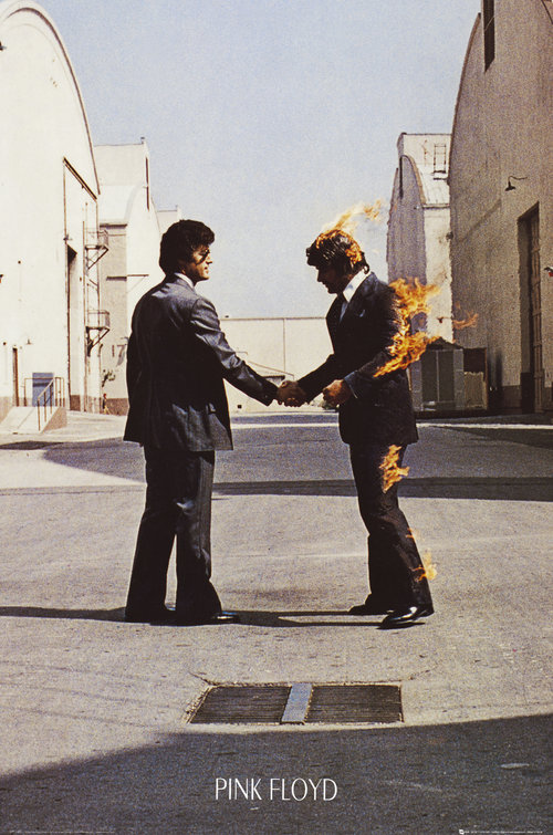 Pink Floyd Wish You Were Here Maxi Poster
