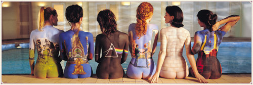 Pink Floyd Back Catalogue Door Poster