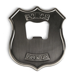 Police Badge Bottle Opener