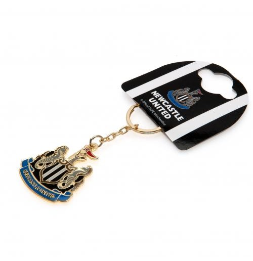 Newcastle United F.C. Crest Keyring
