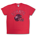 NEW YORK GIANTS Junk Food Brand Helmet Logo Tee