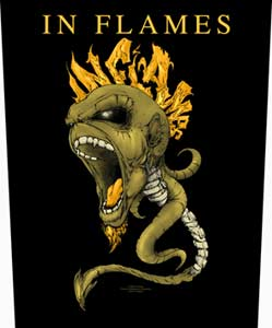 In Flames   Spine   Backpatch