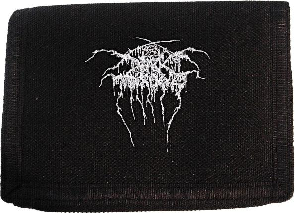 Darkthrone Logo Velcro Wallet
