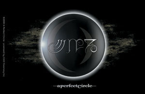A Perfect Circle Eclipse Logo Sticker