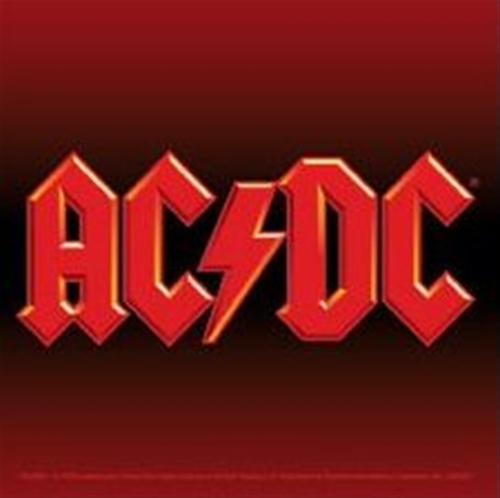 AC/DC Logo Square Sticker