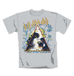 Def Leppard T Shirt Hysteria. Emi Music officially licensed t-shirt.