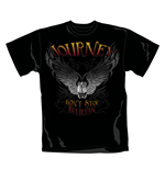 Journey T Shirt Black Scarab. Emi Music officially licensed t-shirt.