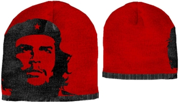 Che Guevara Red Face Beanie