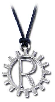Rage Against Machine Logo Pendant