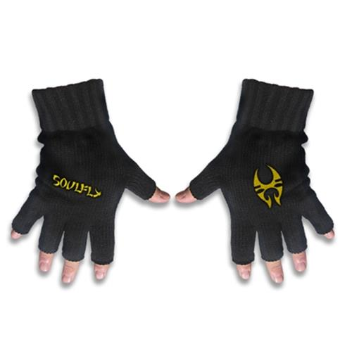 Soulfly Logo Gloves