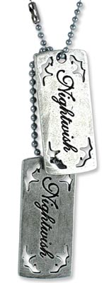 Nightwish Tatto Logo Dogtags