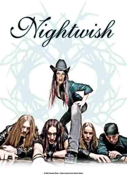 Nightwish Band Flag
