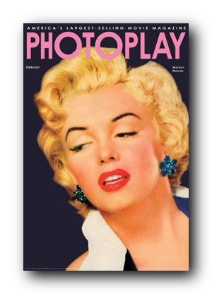 Marilyn Monroe   Photoplay Magazine   Poster