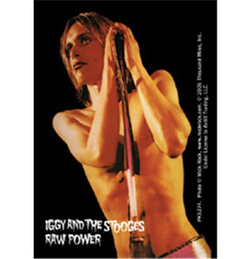 Iggy Pop Raw Power Acrilic Keychains