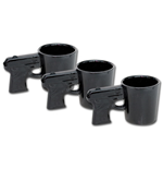 3-Pack Gun Shot Glass