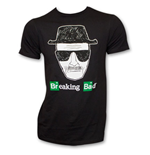 BREAKING BAD Sketch Face Shirt Black