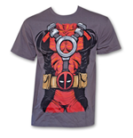 DEADPOOL Costume Shirt Grey