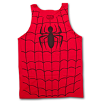 SPIDERMAN Tank Top - Red