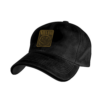 Nirvana Metal Logo Hat