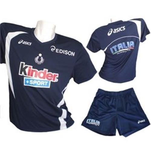 Italy Volleyball Men's Kit - Navy