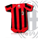 AC Milan Striped Babybody
