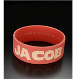 Twilight Breaking Dawn Rubber Bracelet Team Jacob Solid