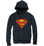 Superman Hooded Sweater Logo black