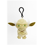 Star Wars Plush Keychain with Sound Yoda 10 cm