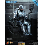 RoboCop MMS Diecast Action Figure 1/6 RoboCop with Mechanical Chair 30 cm