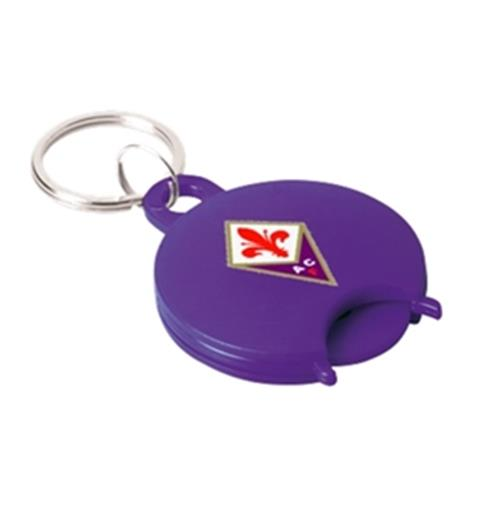 ACF Fiorentina Shopping Cart Token Keyring