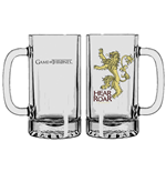Game of Thrones Beer Glass Lannister