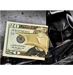 Batman The Dark Knight Rises Batarang Folding Money Clip
